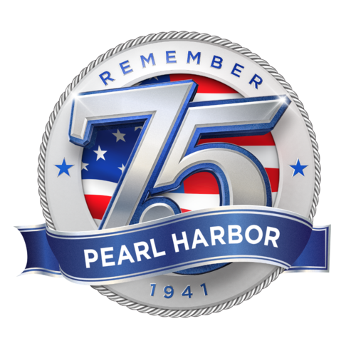 Image result for pearl harbor 75 logo