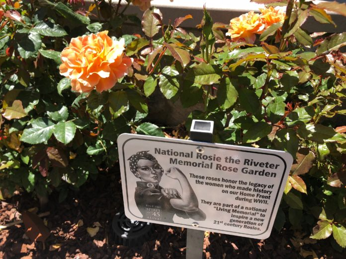 Rosie The Riveter Memorial Rose Gardens Locations